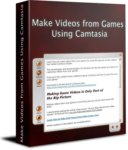 Make Videos from Games Using Camtasia